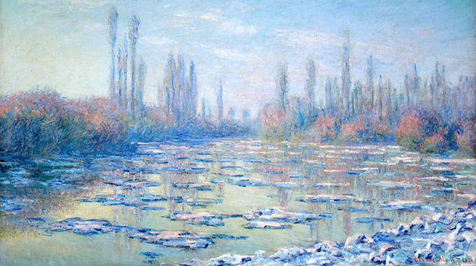 Monet - The Ice Floes Resized