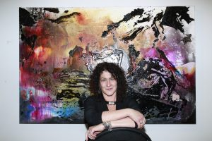 Barbara Mink @ Echo Art Fair photo by Cheryl Gorski 1