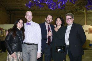 Dawn Tekler, Adam Tully & John Farina Kandi Rippert & , Eric Rippert @ Echo Art Fair photo by Cheryl Gorski 1