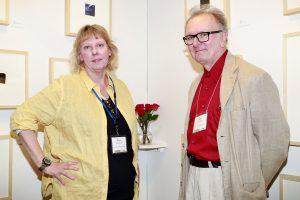 Diane Janowski & Allen C Smith @ Echo Art Fair photo by Cheryl Gorski