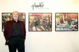 Gary L Wolfe@ Echo Art Fair photo by Cheryl Gorski 2