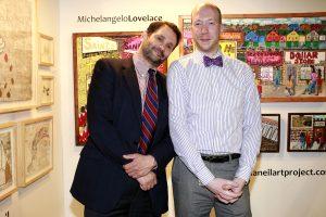 John Farina & Adam Tully @ Echo Art Fair photo by Cheryl Gorski 1