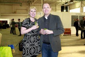 Kelly Carpenter, Jim Baker @ Echo Art Fair photo by Cheryl Gorski
