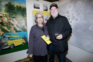 Sharon Levite & Larry Levite @ Echo Art Fair photo by Cheryl Gorski 3