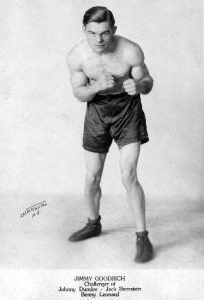 Lightweight Jimmy Goodrich is one of the six world champions hailing from Buffalo and the subject of an exhibit now on display at Karpele's Manuscript Museum.