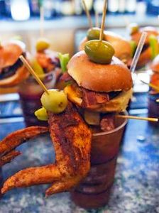 Chicken Wing Bloody Mary
