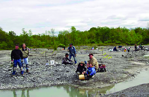 Fossil hunting as tourism? Study shows fossil hunters come to WNY and spend money … and take home fossils.