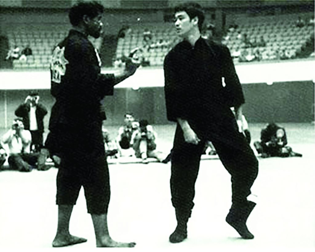 Victor Moore and Bruce Lee.