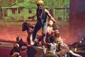 THEATER REVIEW: LOUISIANA BACCHAE