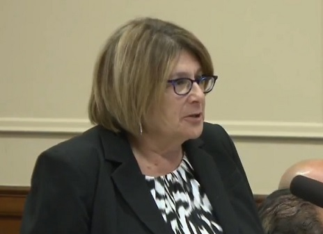 """Assistant Attorney General Susan Sadinsky argued that what prosecutors did in Pfaff's case was done to """"protect"""" Pfaff's interests."""