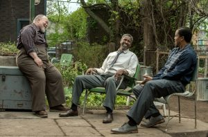 Stephen McKinlley Henderson, Denzel Washington and Russell Hornsby Fences (201