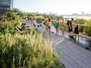 New York's High Line Park on an old rail bed has had over 20 million visitors