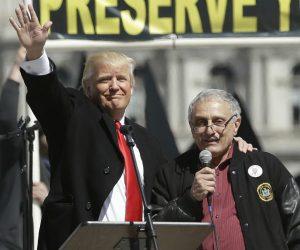 I give a speech at Donald Trump's rally in Buffalo.