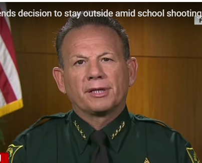 Sheriff Scott Israel was sickened by his disgraceful deputy